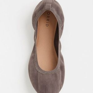 torrid Shoes - Torrid Grey Faux Leather Flats